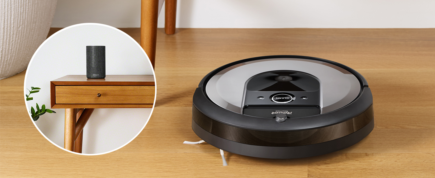 iRobot i7 Roomba - Robot aspirador adaptable al hogar, ideal para ...