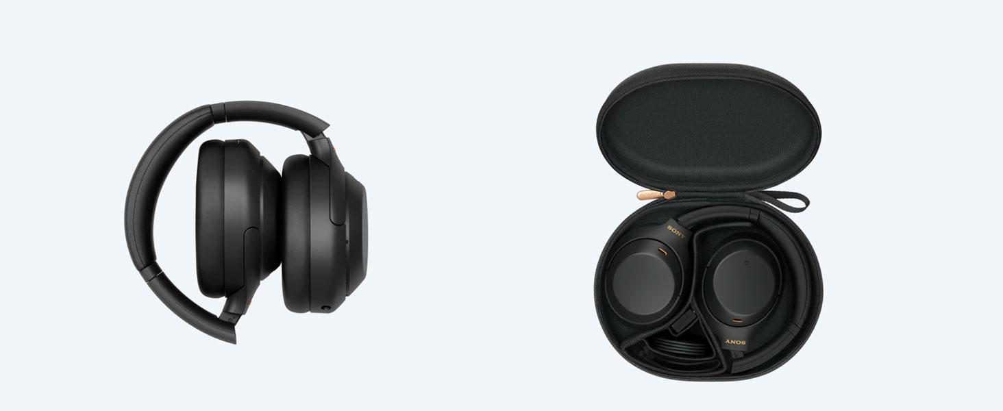 Sony WH-1000XM4, WH1000XM4, 1000XM4, casque bluetooth, casque sans fil, facile, housse de transport