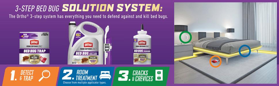 3 step Bed Bug Solution System