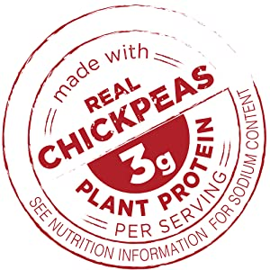 Made with Real Chickpeas
