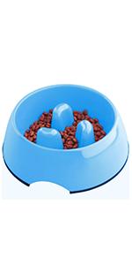 Interactive Bloat Stop Anti-Gulping Slow Feed Dog Bowl
