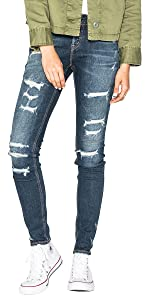 Amazon Com Silver Jeans Women S Suki High Rise Baby
