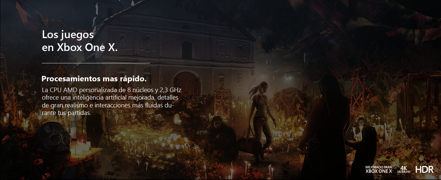 Microsoft Xbox One X - Consola 1TB + Shadow Of The Tomb Raider: Microsoft: Amazon.es: Videojuegos