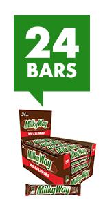 MILKY WAY Fudge Chocolate Candy Bars Minis Size