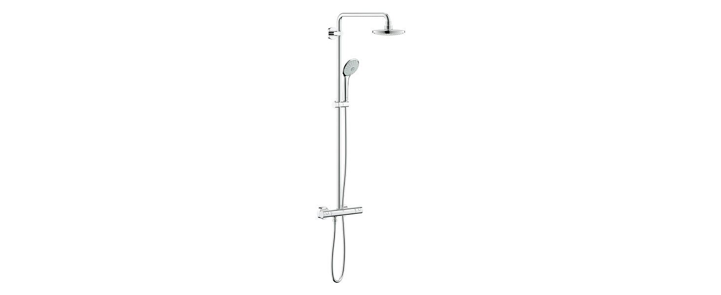 Grohe Euphoria Concetto 260 - Sistema de ducha con grifo monomando ...