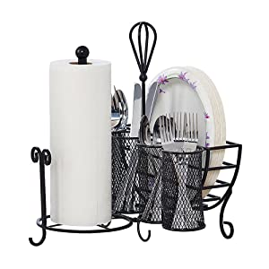gourmet basics wire decor home decoration kitchen organization basket metal steel mesh store country