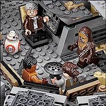 lego star wars millennium falcon, Han Solo minifigure, star wars toys, lego star wars minifigures