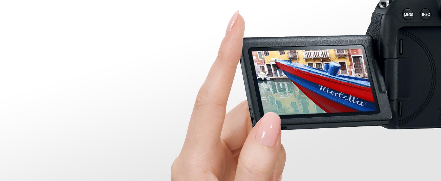 Vari-angle Touch LCD