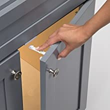easy installation template, adhesive cabinet latch, no tools required, drawer latches, childproof