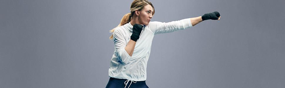 womens 1/2 zip pullover top long sleeve shirt