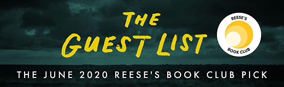 The Guest List, Lucy Foley, Reese Witherspoon, Reese Witherspoon Book Club, Reese's Book Club Pick