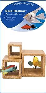 Amazon Com Penn Plax Stone Replica Aquarium Decoration