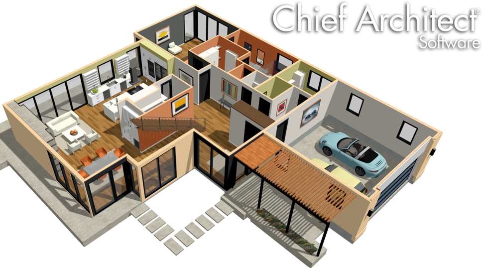 Chief architect home designer architectural 2019 software for Virtual architect ultimate home design 7 download