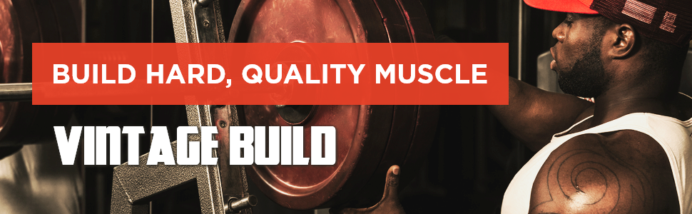 Old School Labs Vintage Build, 3-in-1 natural muscle builder