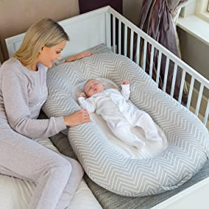 Clevamama Maternity Pillow and Baby Pod