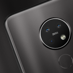 48MP triple camera with ZEISS Optics