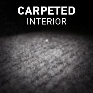 Carpeted Interior