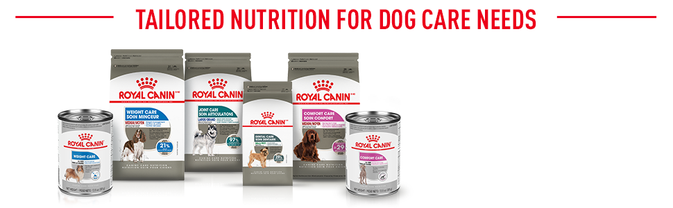 Royal Canin Canine Care Nutrition Range - Tailored Nutrition for Dog Care Needs