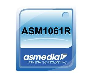 I//O Crest M.2 B+M Key 22x42 PCIe Bus to 2 Ports SATA 6 G III RAID Controller Adapter Card Chipset ASM1061R