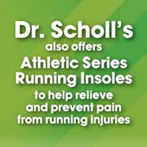 Dr. Scholl's Athletic Series Running Insoles