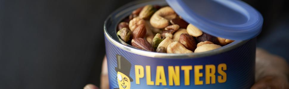 mixed nuts peauts honey roast roasted dry peanuts planters