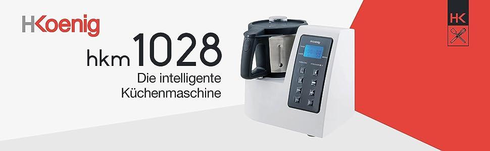 H Koenig Hkm1028 Kuchenmaschine Mit Kochfunktion Temperatur Von 0