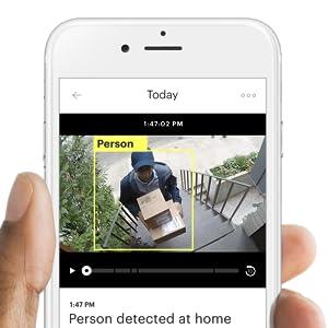 Amazon Com Canary Flex Indoor Outdoor Hd Security Camera