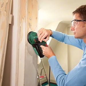 bosch exzenterschleifer pex 300 ae 1x schleifpapier koffer 300 watt baumarkt. Black Bedroom Furniture Sets. Home Design Ideas
