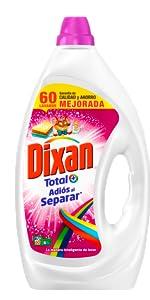 Dixan Detergente Líquido Adiós al Separar - 40 lavados (2 L ...