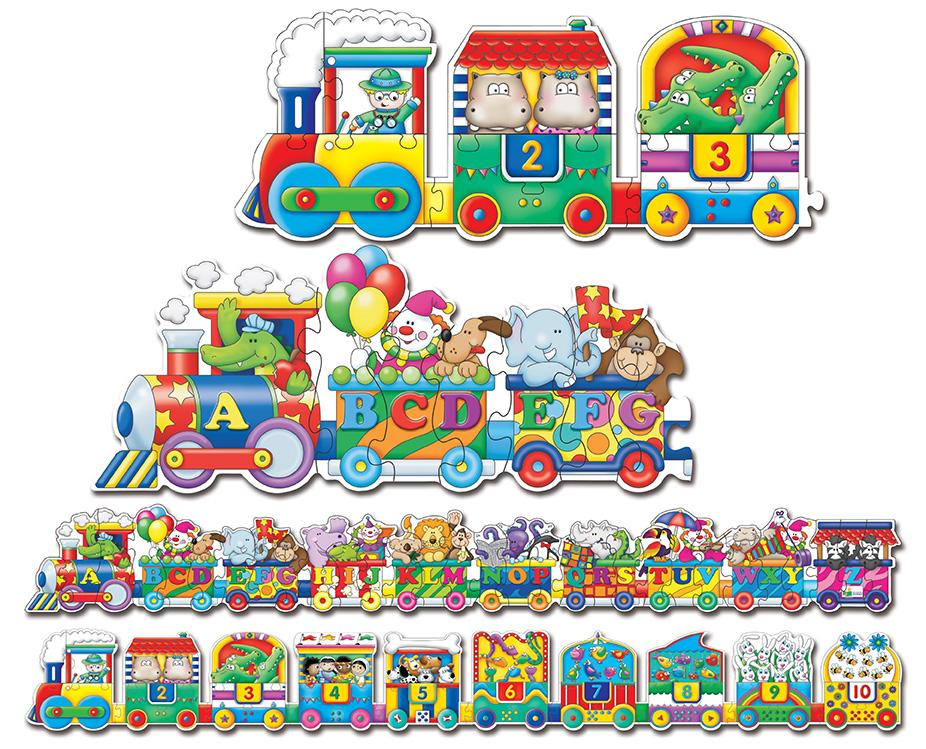 Amazon Com The Learning Journey Puzzle Doubles Giant