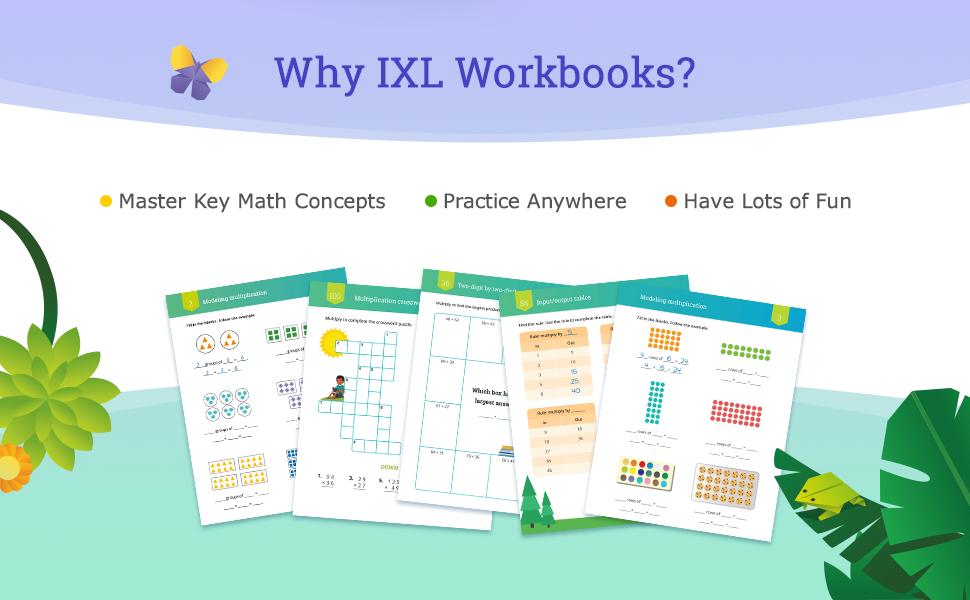 Why IXL Workbooks