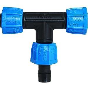 Black WATTS AQLCF114 ANKA 1-1//4 in Blue Fiberglass Reinforced Nylon Quick Lock Female NPT Coupling