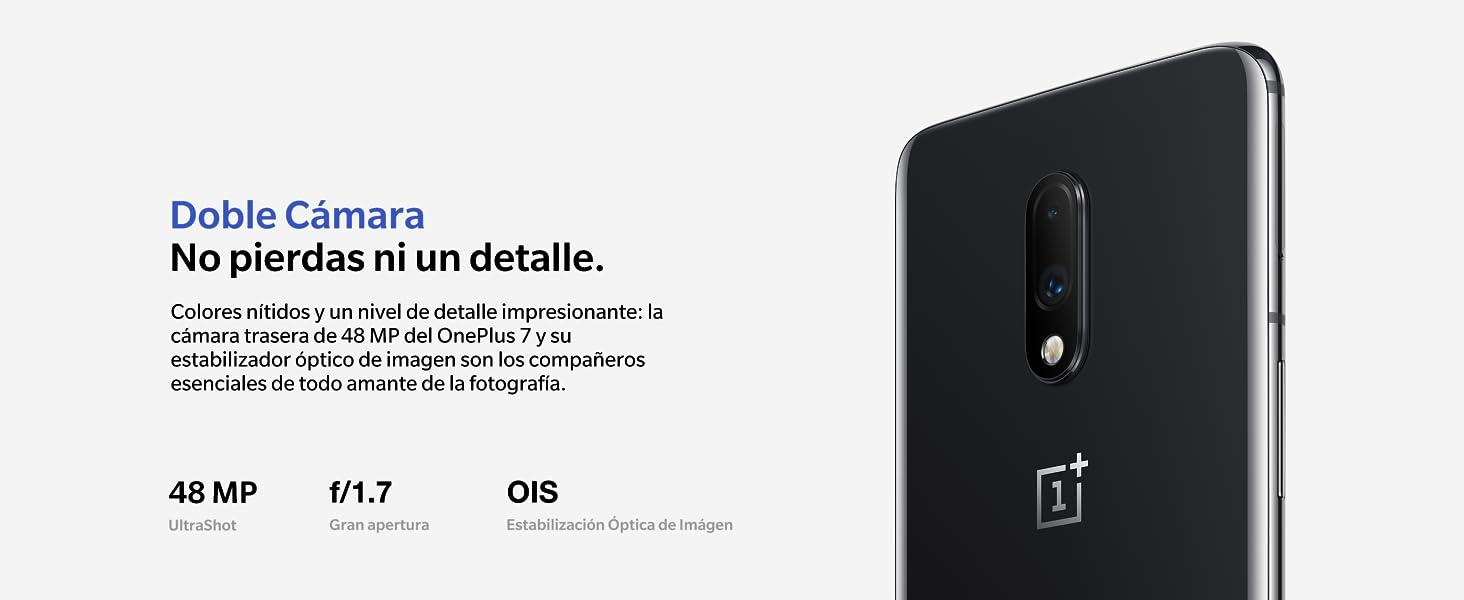 OnePlus 7 Mirror Gray 8GB+256GB (2 Años de Garantía del Fabricante)