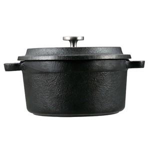 キャプテンスタッグ(CAPTAIN STAG) ココット ダッチオーブン 鋳鉄製 ガス火・IH・オーブン対応