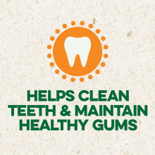 Helps Clean Teeth and Maintain Healthy  Gums