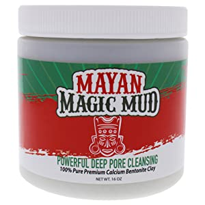 Mayan Magic Mud powerful deep cleaning facial mask