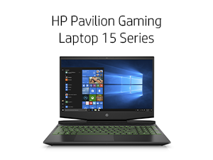 HP Pavilion Gaming Laptop 15 Series 15-dk0010nr