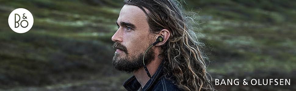 Beoplay H5 Auriculares inalámbricos In Ear (Bluetooth 4.2, aptX, Li Ion), Moss Green
