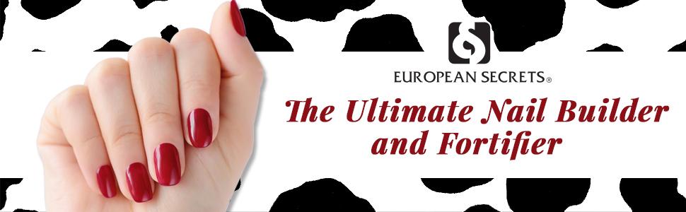 European Secrets 0.5 oz. Calcium Nail Builder, 2 Pack