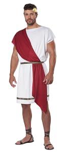 Toga, Party, Frat, College, Greek, Roman, Mythology, Robe, Cleopatra, Spartan, Sparta, Halloween