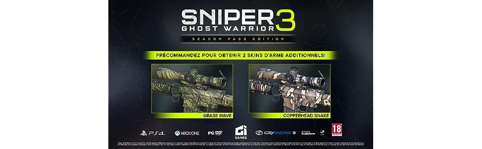 Sniper : Ghost Warrior 3 - édition Season Pass: Windows 10: Amazon.fr: Jeux vidéo