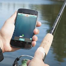 shore fishing ibobber
