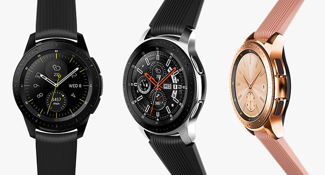 Samsung Galaxy Watch - Reloj Inteligente, Bluetooth, Plata, 46 mm ...