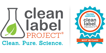 Clean Label Project, Best In Class, Tested, Certified