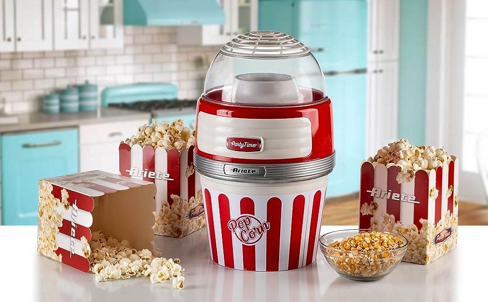macchina per fare i popcorn a casa popcorn xl ariete party time 2957