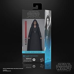 Star Wars The Black Series Rey (Dark Side Vision)