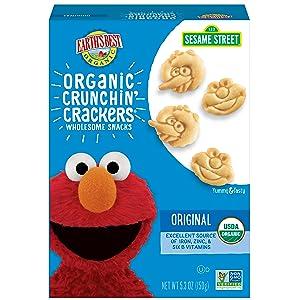 Earth's Best Organic Sesame Street Toddler Snacks