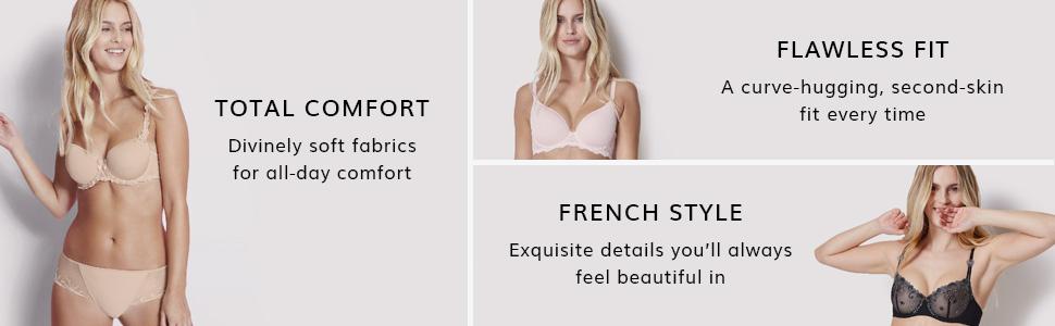 Simone Perele, Bras, Panties, Lingerie, Comfort bra, fit, French Lingerie