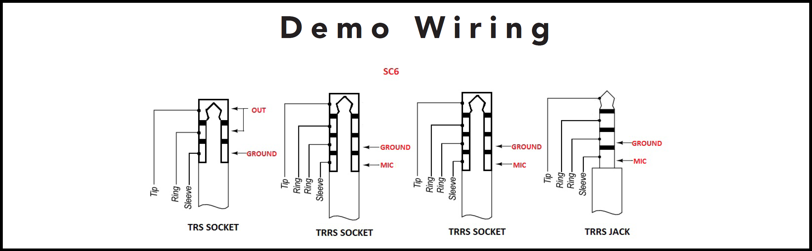 trrs connector wiring diagram speakon connector wiring