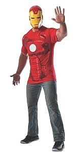 adult shirt iron man